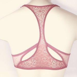 cc08e24943b30 PINK Victoria s Secret Intimates   Sleepwear - VS Bombshell Plunge  Racerback PushUp Bra Sz  32D